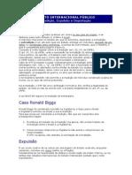 DIP - Lições de Direito - Extradição, Expulsão e Deportação (1)