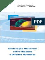 Declaração Universal Da Bioética e Direitod Humanos