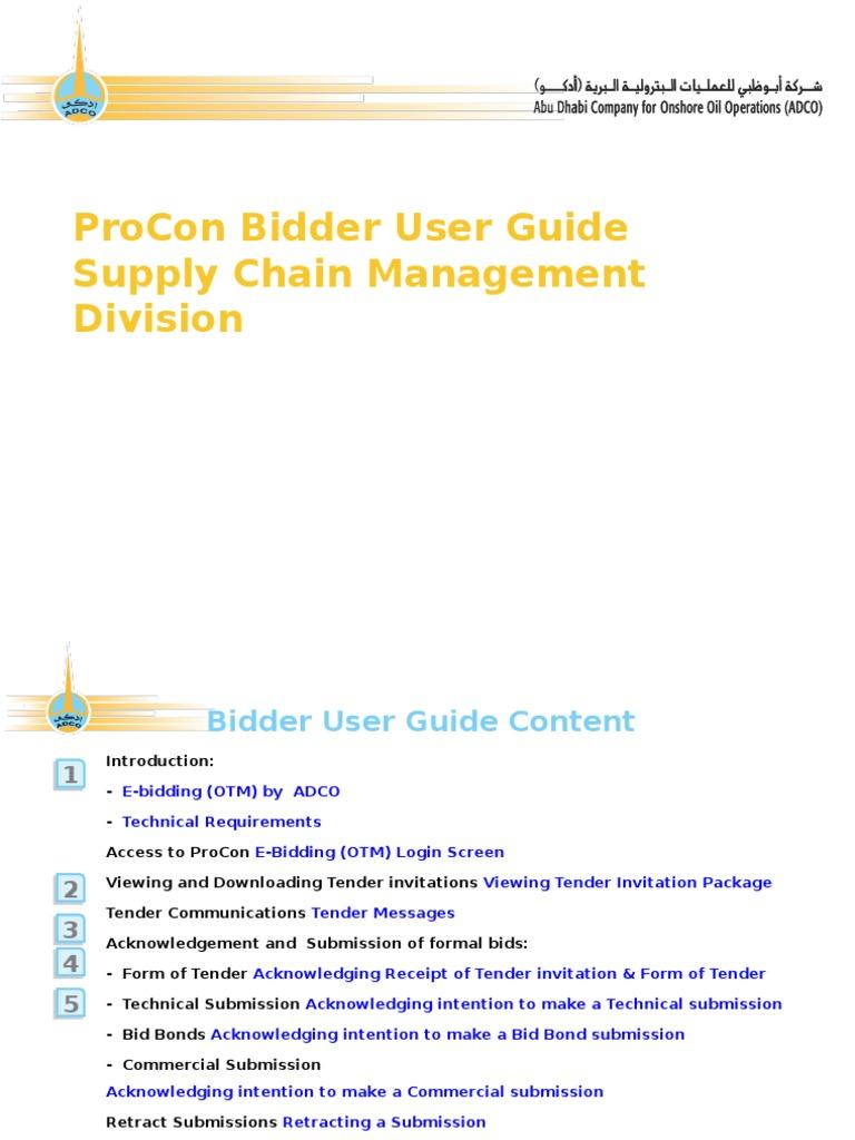 adco bidder gduide v file format portable document format