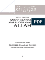 Holy Quran in Luo Language