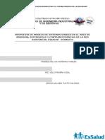 Propuesta de Modelo de Sistemas Viables en El Area de Admision