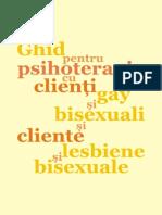 Psihoterapia homosexualitatii