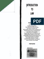 Libro Intro to Law