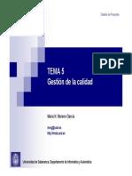 GP-GII Tema 5-Gestión de la calidad