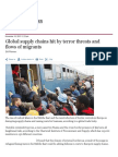 Global Supply Chains Hit by Terror Threats and Flows of Migrants