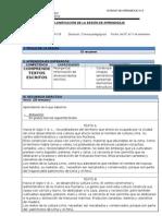 PLANIFICACIÓN DE LA SESIÓN DE APRENDIZAJE comunicacion.docx