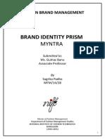 Myntra Brand Prism