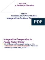 2013-Topic4-InterpretivePolitical