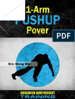 1 Arm Pushup Power