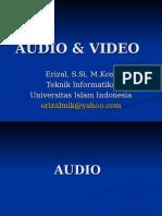 Modul 2 Audio Video