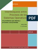 Procesos Sistemas Operativos