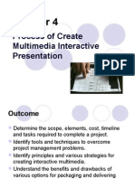 Chapter 4- Process of Create Multimedia Interactive Presentation (1)