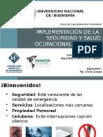 Implementación, Seguridad y Salud Ocupacional