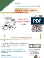 Thème 122 2- Ecole et mobilité sociale.ppt