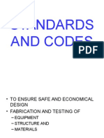 Standards and Codes