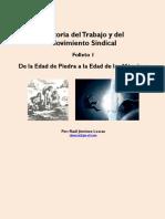Historia Del Trabajo Folleto 1 de La Edad de Piedra a La Edad de Las Maquinas