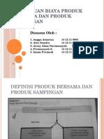Penentuan Biaya Produk Bersama dan Produk Sampingan