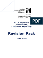 ACCA P2 Revsion Pack June 2015