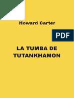 La tumba de tutankamon-cartes