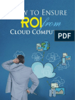 ROI Cloud Computing