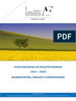 PSR 2014 -2020 Elaborazione, Analisi e Comparazione_0
