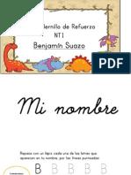 Cuadernillo BENJAMIN S.