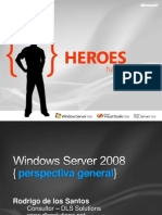 Windows Server 2008 Overview Spanish Full