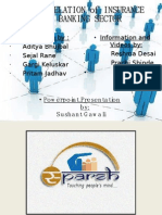 PR of Banking and Insurance Sector