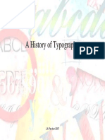 History of Typeography