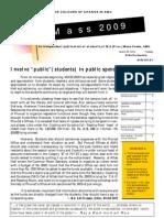 MASS 2009 2nd Edited