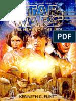 Star Wars the Heart of the Jedi by Kenneth Flint