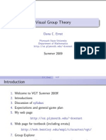 Dana C. Ernst-Visual Group Theory (Class Notes) (2009)