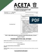 Gaceta Ley de Los Derechos de Las Niñas, Niños y Adolescentes Del Estado de Mexico