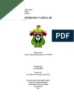 98966236 Referat Demensia Vaskuler