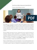 8. Evaluación Educativa - Mejora Continua