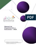 (Manual de Organización y Funciones -