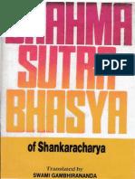 Brahma Sutra Sankara Vasya on Caste