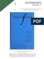 Heterofonía Manuel Ponce