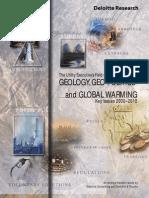 Deloitte Geology, Geopolitics and Global Warming