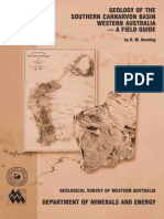 Hocking, R. M.; Et Al. Geology of the Southern Carnarvon Basin, Western Australia- A Field Guide. 2000. 0730965503. (GEOL.surv.W.aus)