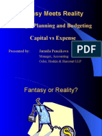 Capital vs Expense Budgeting