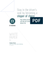 Shipper of Choice White Paper C3 Solutions1