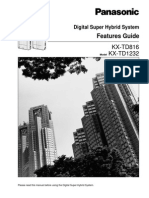 KX-TD 816 - 1232 Feature Guide Ver 6