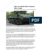 Defensa Adjudica El Vehículo 8x8 a General Dynamics