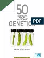 50 Cosas Que Hay Que Saber Sobre Genética