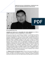 La Vigencia Del Derecho Social en Honduras - A Proposito de La Ley Marco Del Sistema de Protección Social de Honduras