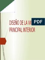 Diseño de La Viga Principal Interior