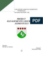 Studiu Plan HACCP