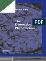 The Detonation Phenomenon - J. Lee (Cambridge, 2008) WW_0521897238