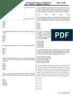 Lista 02 INSS Matemática